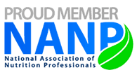 Proud Member National Association of Nutrition Professionals